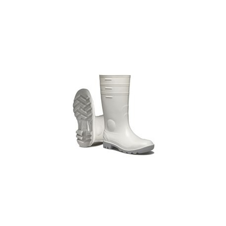 Nora Mint white boots