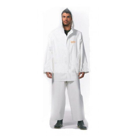 Waterproof Jacket Dispan white