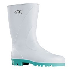 Netco White short Boots