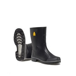 Nora Farm black short Boots